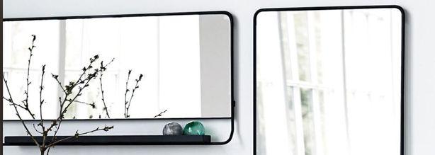 Rechthoekige spiegels